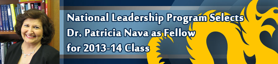 National Leadership Program Selects Dr. Patricia Nava as Fellow for 2013-14 Class