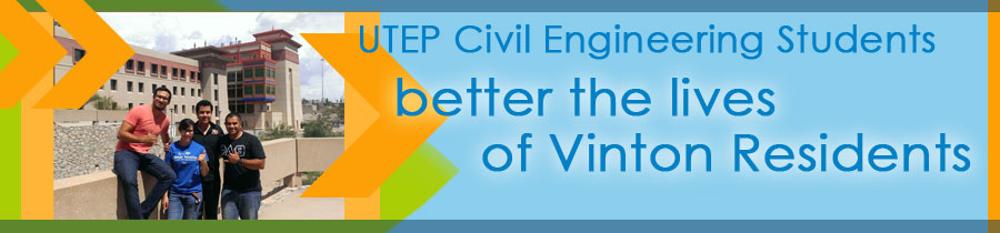 Civil Engineering Students better the lives of Vinton Residents
