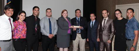 UTEP Students Receive the TSPE 2016 Excellence Award