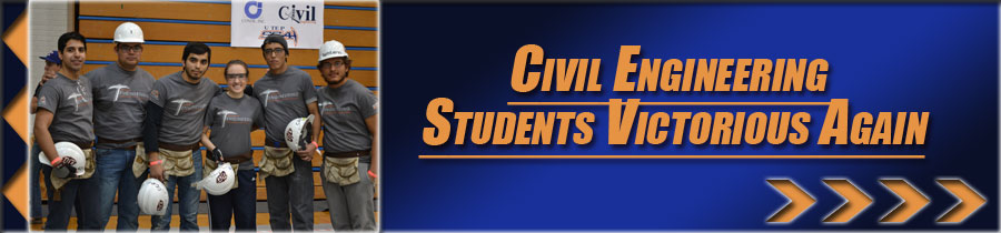 Civil Engineering Students Victorious Again