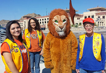 UTEP Lions Club Promotes Community Service, Volunteerism