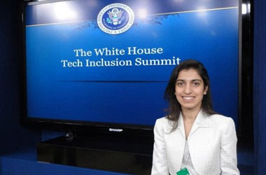 Electrical engineering undergraduate Roya Edalatpour received a special invitation to attend the White House Tech Inclusion Summit, held this past January, which was part of an initiative launched by President Barack Obama to increase the number of minority STEM graduates in the United States.