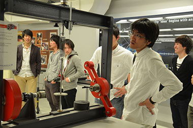 Students from Japan's Kyushu Institute of Technology visited the UTEP campus as part of an international collaboration towards the development of commercial space exploration. Photo courtesy of UTEP Engineering.