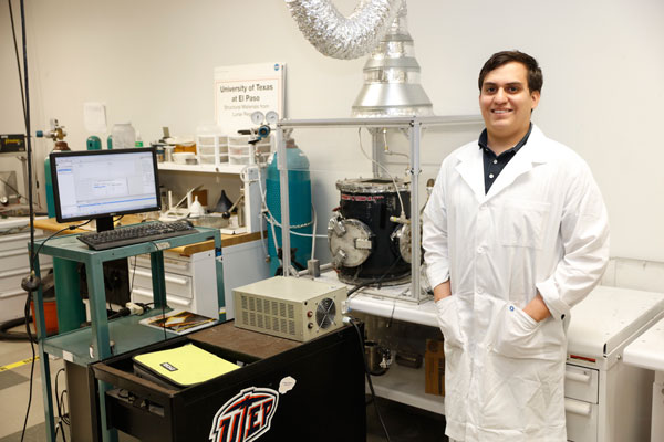 UTEP Grad Makes NASA List of Space Technology Research Fellows