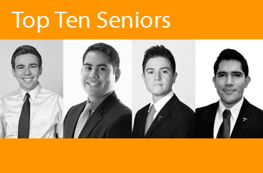 Top Ten Seniors value UTEP's education
