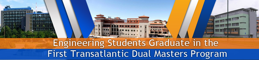 Engineering Students Graduate in the First Transatlantic Dual Masters Program