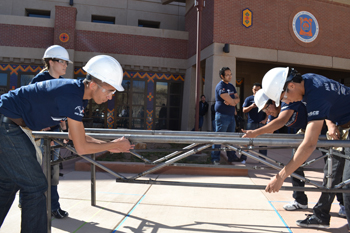 UTEP Engineering Students Compete in National Steel Bridge Competition