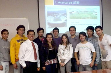 Chile Looks to UTEP as Model of Excellence