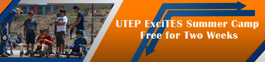 UTEP ExciTES Summer Camp Free for Two Weeks