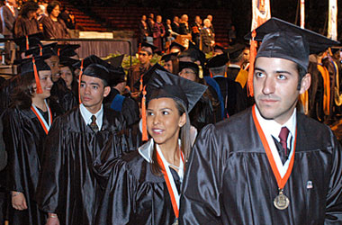 UTEP Receives Top Rankings for Degrees Awarded