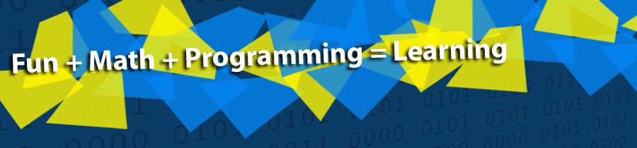 Fun + Math + Programming = Learning