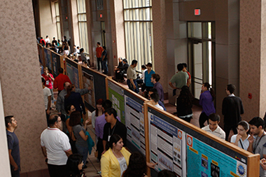 Hundreds of students, faculty and community attendees at the 2014 COURI Symposium learned more about the breadth of undergraduate research being undertaken on the UTEP campus.