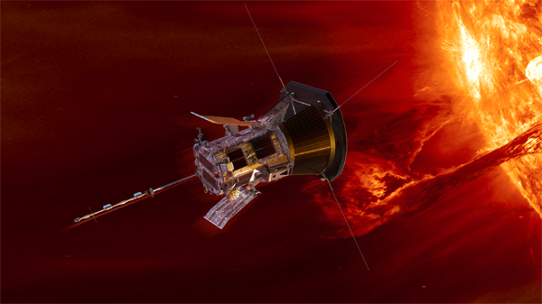Image of Parker Solar Probe.
