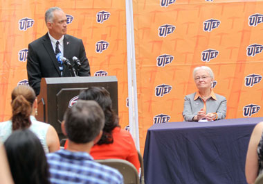 Danny Olivas, UTEP Unite to Advance Space Research