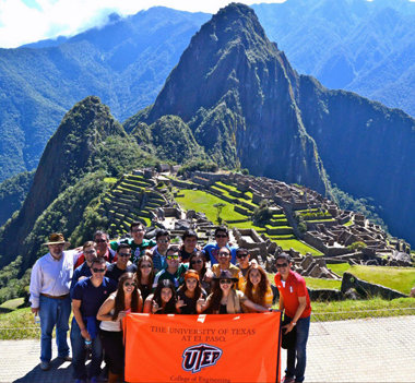 Students from the College of Engineering participated in a three-week, faculty-led program in Peru where they learned about global and regional sustainable engineering.