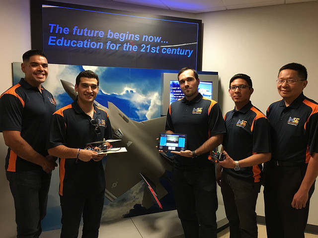 UTEP Awarded 100K to Develop Crawler Robots to Aid with Aircraft Inspections