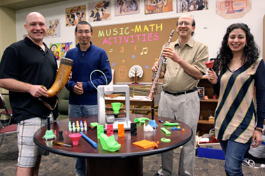 Researchers Trumpet Music-Math Camp to Promote Technology