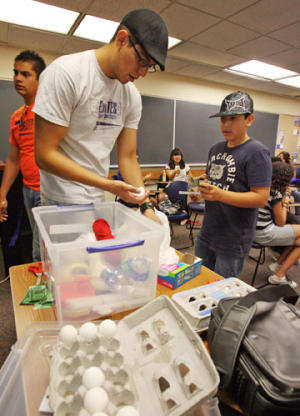 UTEP engineering camp builds interest in science