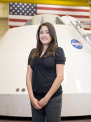 UTEP Student Works with NASA on Designing Exploration Vehicle Concepts