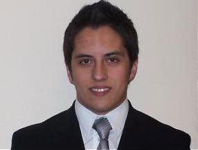 Industrial, Manufacturing & Systems Engineering student Christian Campuzano