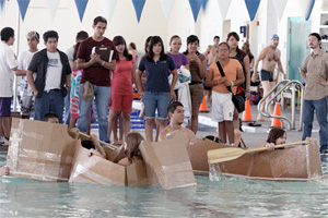 Middle Schoolers Build Boats for Summer Camp at UTEP