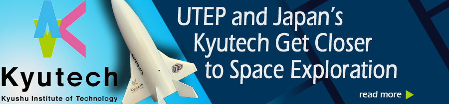 UTEP and Japan's Kyutech Get Closer to Space Exploration
