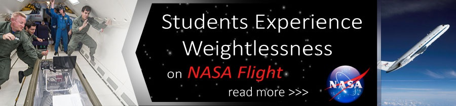Students Experience Weightlessness on NASA Flight
