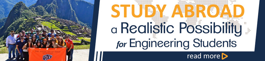 Study Abroad a Realistic Possibility for Engineering Students