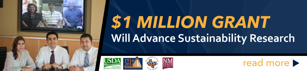 $1 Million Grant Will Advance Sustainability Research