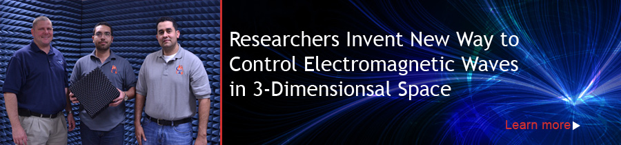 Researchers Invent New Way to Control Electromagnetic Waves in 3-Dimensionsal Space